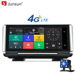 "Wholesale Video Monitor Car - Junsun E29 Pro 4G Car DVR Camera GPS 6.86"" Android 5.1 FHD 1080P WIFI Video Recorder Dash cam Registrar Parking Monitoring"