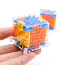 Wholesale Toy Maze Games - MINI 3D Maze Magic Cube Puzzle Speed Game Labyrinth Ball Educational Toys Magic Cube 3D Maze Magic Cube Puzzle Children's Intellectual