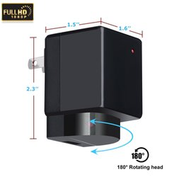 1080P Wifi USB Power Adapter camera EU US Plug No Hole Wireless Surveillance charger Camera Real Wall AC Plug DVR Video Recorder