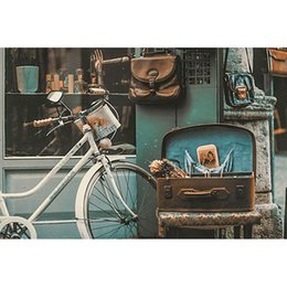 Pittura diamante 5d bicicletta Pieno di diamanti ricamo fai da te resina pietra mosaico di arte pittura diamante punto croce imposta decorazione della parete artigianato da pietre diamanti decorazione fornitori
