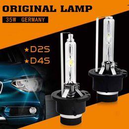 Wholesale hid xenon head lights - 2 x D2S HID Xenon CAR Head Light Original Lamp PHILIPS Quality 4300K 5000K 6000K 8000