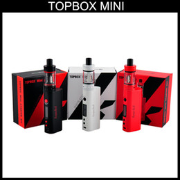 Wholesale Kanger Mini Pro - High Quality Kanger topbox Mini 75W Kit Pro Starter Kit Top Refilling Tank&75Watt TC Mod KangerTech Beginner Kit