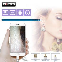 Caméra endoscopique 720p Endoscope HD oreille visuelle cuillère EarPick nettoyant pour caméra OTG Android Endoscope Borescope ? partir de fabricateur