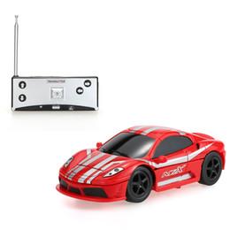 Wholesale Rc 32 - Original Create Toys NO.8010 40MHz Mini Flashing 2-In-1 Electric Robot RC Car