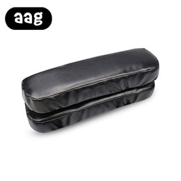 Canada AAG Petite Taille Anti-Slip Design Pu Accoudoir Pad Pour Chaise De Bureau Accessoires de Meubles À La Maison Noir Pu Accoudoir En Cuir Oreiller Offre