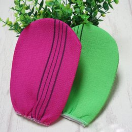 Wholesale Wholesale Products Korea - 2018 Hot selling products 100% matte bath sponge Hot South Korea Ms. Dead Skin Bath Bathing Sauna Massage Exfoliating Scrub Gloves