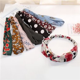 Wholesale Factory Leather Band - Factory Price Fashion Simple Headband For Women Cotton Black Elastic Hairbands Girls Hair Bands Elegant Lady Hair Accessories