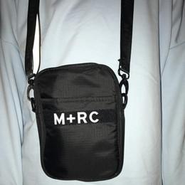 M teléfono móvil online-Nuevo M + RC NOIR Mochila Portátil Cross Body para Hombre Bolsa de Almacenamiento Bolsa de Cintura Bolsa de Lona de Los Hombres Paquetes de Teléfono Móvil Bolsas de Mensajero