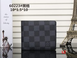 Wholesale candy dots dress - 2018 Male luxury wallet Casual Short designer Card holder pocket Fashion Purse wallets for men free shipping #009