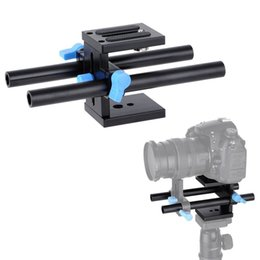 Wholesale Rig For Dslr - 15mm Rail Rod Support System Baseplate Mount for DSLR Camera Follow Focus Rig
