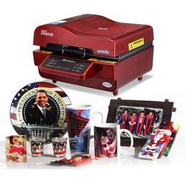 Wholesale iphone vacuum machine - 3D Multifunctional Sublimation Heat Press Machine 3D Vacuum Sublimation Heat Transfer Machine Iphone case Vacuum Press A3 size Fast shiping