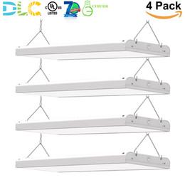 2FT 165W LED ad alta illuminazione lineare a LED con illuminazione a LED Negozio illuminazione industrialeIndustrial Lighting Fixture 0-10v Dimmable UL DLC (4 pezzi) da