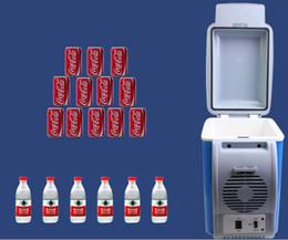 frigoríficos 12v Desconto Verão ao ar livre multifunções mini veículo geladeira carro portátil refrigerador-caixa de piquenique de pesca e ciclismo viagens baldes de gelo 12 v 7.5 l