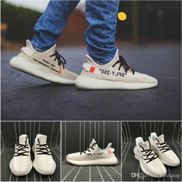 2110a2124826c 350 V2 Static Butter Kanye West Cream White Zebra Fashion Mens Running Shoes  Runner Women Fashion Athletic Designer Sneakers US 5-13