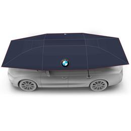 2019 cubierta mazda espejo Lanmodo 4.8M Auto Car Roof Carpa con control remoto 21D Oxford Cloth