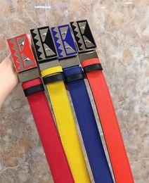 Wholesale Top Brand Belts For Men - 2017 Top quality brand belt wholesale belt new hip brand buckle designer belts for men women genuine leather Men's belt