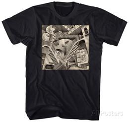 M. C. Эшер-Относительности Одежда Футболка-Черный Футболка Мужчины Мальчик Великолепный Короткий Рукав Мода Пользовательские Плюс Размер Команды Рубашки от