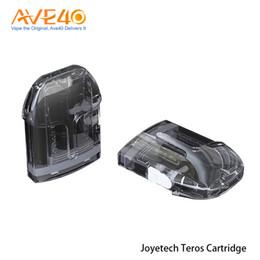 Peças de cigarros eletrônicos on-line-5 PCS Joyetech Teros Cartucho de 2 ml para Joyetech TEROS Kit de Alta Qualidade Cigarro Eletrônico Peça De Reposição 100% Original