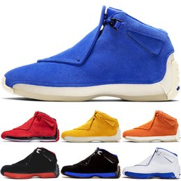 Canada Toro OG ASG 18 18s XVIII Chaussures de Basketball Hommes Noir Blanc Rouge Bred Royal Blue Athletic Sports Sneakers formateurs chaussures de designer cheap massage 18 Offre