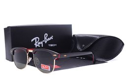 795a1456144 Ray glasses Bans 3016 Brand Designer Men Women Polarized Sunglasses Semi  Rimless Sun Glasses Gold Frame Polaroid
