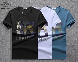 72dccbab8ec65e T-shirt Hommes 2018 New Summer Fashion Lettre T-shirts imprimés T-shirts à  la mode à col rond   2328 T-shirts de sport à manches courtes pour hommes