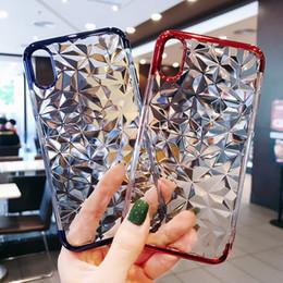 Canada Pour iPhone6 6S iPhone6P 6SP iPhone7 8 iPhone7P 8 P iPhoneX 3D Diamant Motif Cas de Téléphone de haute qualité Exact trou site Conception Offre