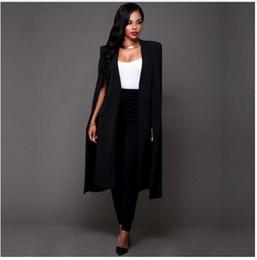 Wholesale Extra Long Coats Women - Spring Autumn Coat Female Extra Long Wide Trench Coat Fashion Women 2017 New Warm Cotton European White Black S M L XL