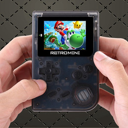 Wholesale Kids Mini Music Player - GBA game Console Retro Game 32 Bit Portable Mini Handheld Game Players Built-in 40 games support TF card extended For GBA Games For Kids