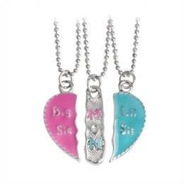 Wholesale Fancy Necklace Sets - Bohemian Jewelry Necklace Fancy Jewelry Sets Bridal Love Couple Pendant XL782-P