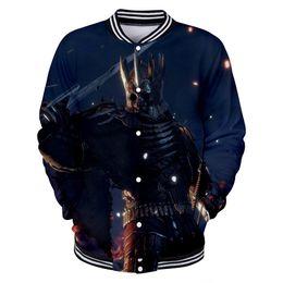 Wholesale purple wizard - New Hot Games 3D Printing Wizard 3 Baseball Jacket WiTCHer Wild Fashion Casual Men women Long Sleeve XXS To 4XL