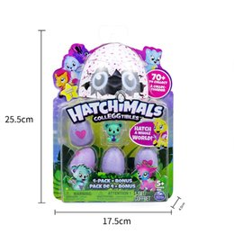 Wholesale Wholesale Nest - Hatchimals Colleggtibles Season 1 Nest 4-Pack + Bonus Bundle Baby Mini Egg Carton Collection Toys for Kids Novelty Toy