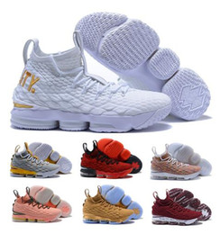 Wholesale men dark red suits - Hot 15s Basketball Shoes Sneakers White 15 XV 2018 MVP Equality BHM Graffiti Hardwood Suit Armor Fruity Ksa Lmtd Kith Ashes Sports Shoe
