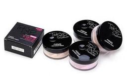 Bloques de aceite online-NOVO CALIENTE Marca 4 color mate mineral polvo suelto para la piel hidratante a prueba de agua de larga duración control de aceite bloqueador solar maquillaje cosméticos