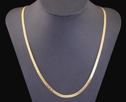 Wholesale united love - Color 18K gold Europe and the United States couple models flat LOVE necklace chain necklace
