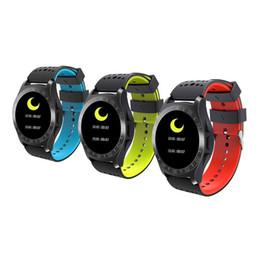 """Tracker della bussola online-KY099 Round Screen Smart Watch 1.3 """"Schermo a colori Orologio multifunzione per adulto Frequenza cardiaca Fitness Tracker Bussola J2"""