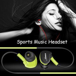 Многоцветный водонепроницаемый IPX5 наушники S500 висит тип наушников красочные спортивные наушники тип гарнитуры тяжелый бас звук стерео наушники 10xq от