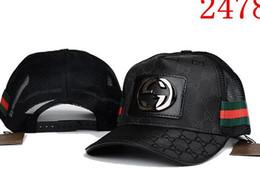 Wholesale free floral designs - 2018 NEW Famous Luxury brand fashion ball cap design bone Baseball Cap casquette Yeezus god hats for men women Luxury hats FREE SHIPPING