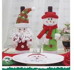 presentes das pessoas idosas Desconto Novo saco de garrafa de vinho decoração de garrafa de Natal Saco de garrafa de vinho de Natal Novo presente para pessoas idosas