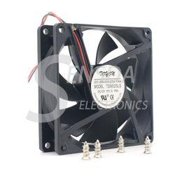 оптовый вентилятор dc 12v Скидка Бесплатная доставка Оптовая GP TD9025LS 9 см 90 мм DC 12 в 0,16 A гидравлический подшипник сервера инвертор вентилятор охлаждения