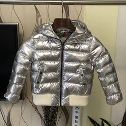 winter parkas for kids Canada - 18 kids Winter parka 95% duck down Boys clothing 2-10 years Down Jacket For Girls clothes Children clothing Outerwear Winter Jackets Coats
