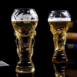 óculos de champanhe de strass Desconto Rússia Copos do Mundo Copos de Cerveja de Uísque 450 ML Criativo Transparente Copos De Vinho Estilo de Futebol Hercules Cup Para Bar Party Club