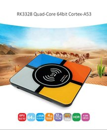 Cargadores inalámbricos quad core online-2018 New S10 PLUS Android 8.1 TV BOX con función de cargador inalámbrico Quad Core 4GB 32GB IPTV BOXES Mejor H96 MAX T95Z Plus Chromecast