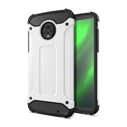 case for z3 Promo Codes - FOR MOTOROLA MOTO G7 G7 PLUS MOTO G7 POWER Z3 PLAY 10 color Armor Hybrid Defender Case TPU+PC Shockproof Cover Case 50PC