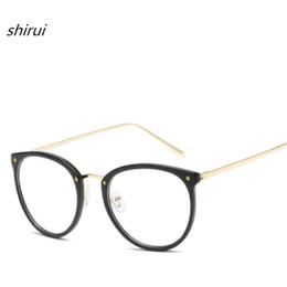 Mode Bleu film TR Lunettes rondes Ultralight TR90 cadre Femme Lunettes lunettes myopie Hommes EyeGlasses Cadre Nerd 5 Couleur ? partir de fabricateur