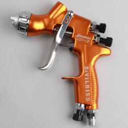 Embouts de pulvérisation en Ligne-Alimentation par gravité pour pistolet de pulvérisation HD-2 HVLP pour tous les types de peinture, de finition et de retouche avec peinture en plastique 600cc