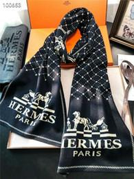 diseños de bufanda de tejer Rebajas Clásico y cálido, unisex, bufanda de punto de lana de otoño e invierno, marca, diseño de caballo, bufanda, mantón, sin gastos de envío