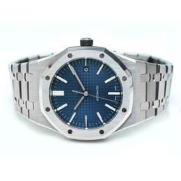 2019 reloj deportivo cinético Reloj de lujo para hombre Top top Relojes mecánicos automáticos de lujo modelo 15400ST Reloj deportivo de acero inoxidable 30 metros reloj de pulsera impermeable