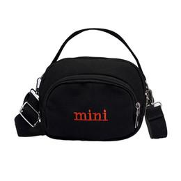 7f3b3161dab8 FGGS Canvas Handbag Mini Single Shoulder Bag Crossbody Messenger Bags Women  Bag Shopping