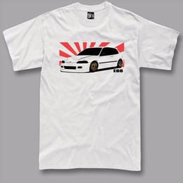 Type R T Shirt Civic Honda Voiture Personnalisé Classique ep3 Homme Inspiré Tee Coton