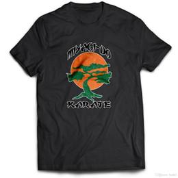 Miyagi Do Karate Kid Japonais Arts Martiaux Chinois Kung Fu TV Film T Shirt Fierté De La Créature T-shirts ? partir de fabricateur